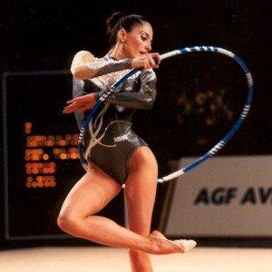 Olena Vitrychenko hoop