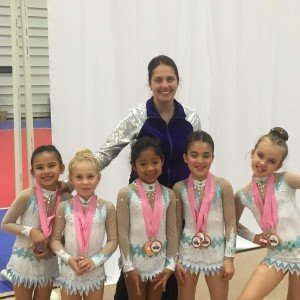 Rhythmic gymnastics competitive team