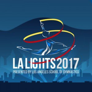 LA Lights rhythmic gymnastics competition