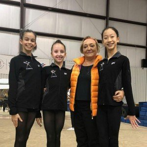 USAG Elite Gymnastics Camp Dec 2017